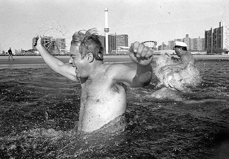 Polar Bear Club, Coney Island, 1990