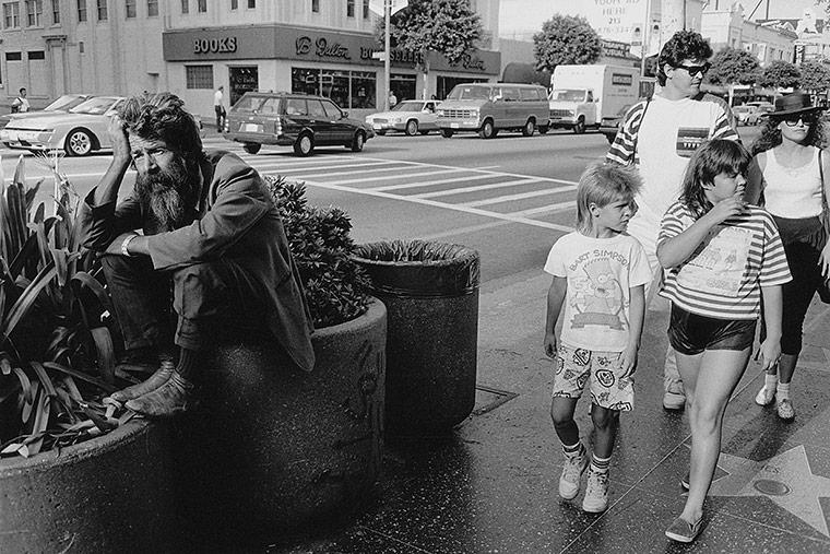 Hollywood, California, 1990