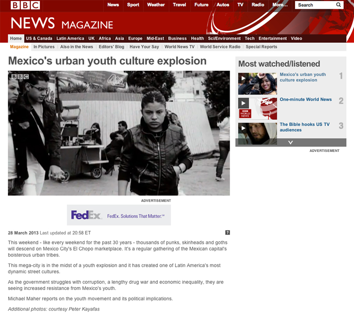 Mexico City on BBC