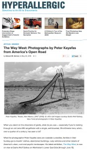 Hyerallergic Kayafas The Way West